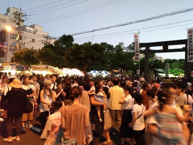 三社神社 夏祭り②