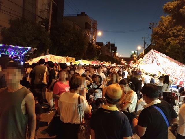 三社神社 夏祭り③