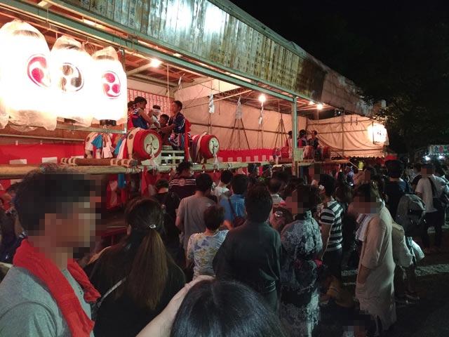 三社神社 夏祭り⑥