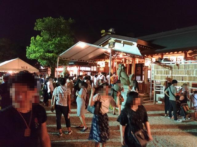 三社神社 夏祭り⑤